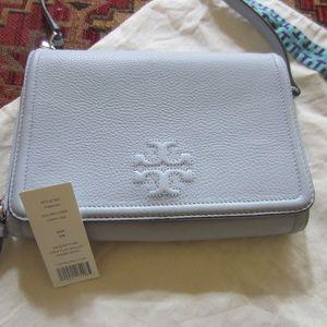 Tory Burch Thea Flat Wallet Crossbody Bag